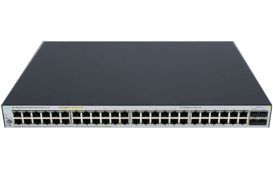 HPE OfficeConnect 1920S 24G 2SFP PoE+ 370W Switch (JL385A)