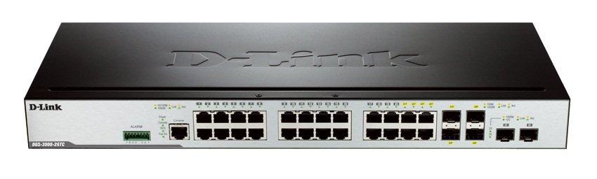 P 16005 D Link Dgs 3000 26tc