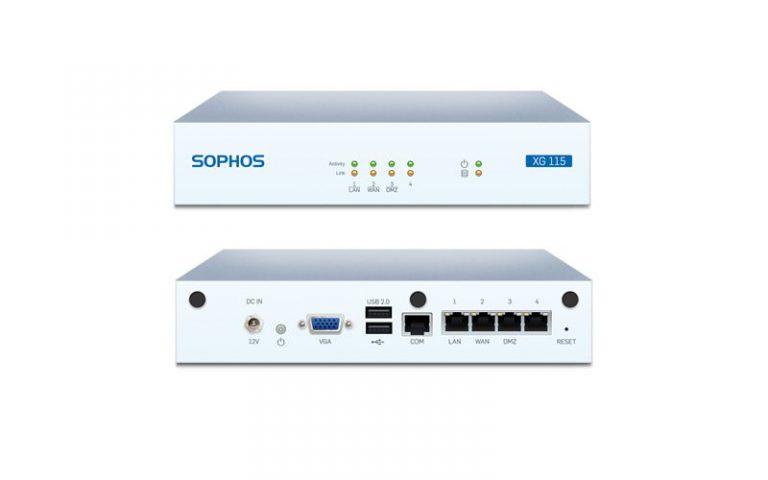 Firewall Sophos Xg 115 , Xg 115w