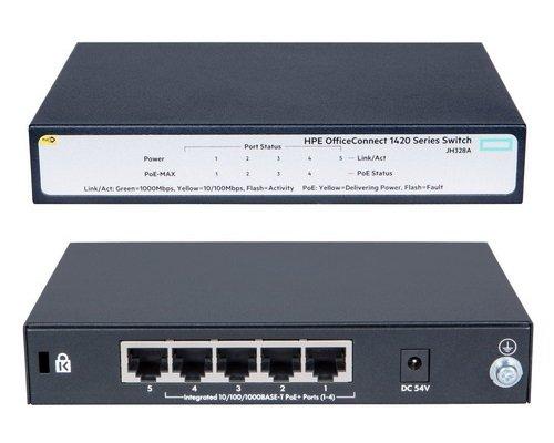 Switch Hpe 1420 5g Poe+ 32w (jh328a)