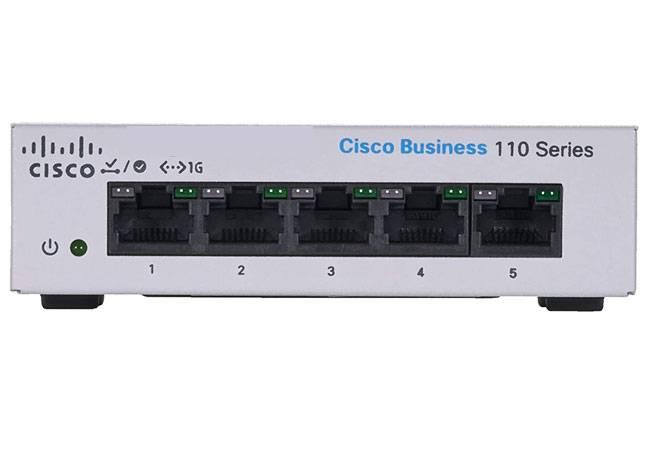 Cisco CBS110-5T-D-EU - Digitech JSC chính hãng